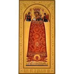 Прибавление ума (Филарет, Правдолюбие). Икона Божьей Матери на дереве.