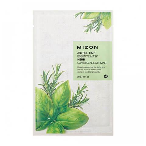 Mizon Joyful Тканевая маска для лица с Целебными травами 23г