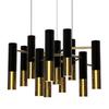 светильник Delightfull IKE SUSPENSION ( хром + черный )