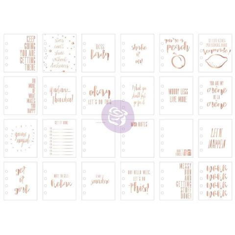 Журнальные карточки My Prima Planner Watercolor Journaling Cards 24шт.