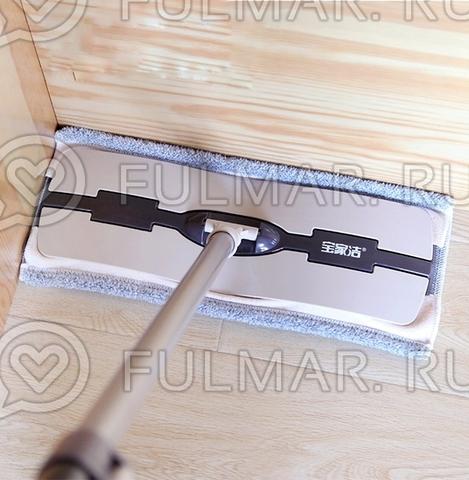 Швабра для мытья пола с микрофиброй Boomjoy Floor Mop