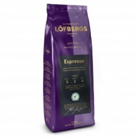 Кофе в зёрнах Lofbergs Espresso