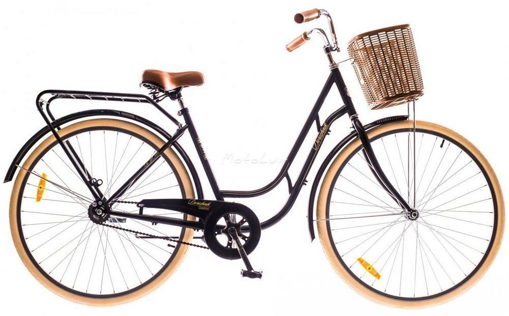 Мужской вариант универсального городского велосипеда Dorozhnik Retro 2016 с колесами 28 дюймов