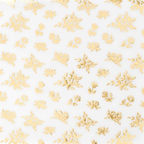 Веллум с золотым тиснением из коллекции BLOOM от Maggie Holmes -Crate Paper