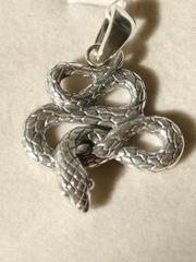 Серебряная подвеска Змея (вес 6,54гр.)