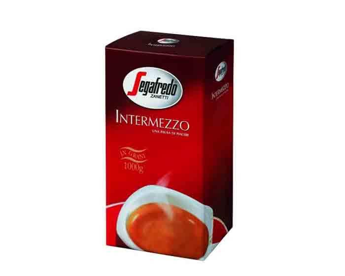 Кофе в зернах Segafredo Intermezzo, 1 кг (Сегафредо)