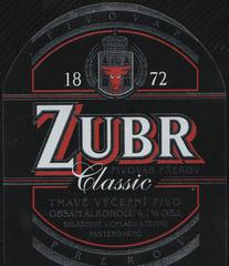 Пиво Zubr Classic Dark