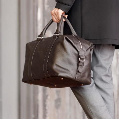 Спортивная сумка Lakestone Calcott Brown, фото 3
