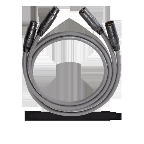 Oehlbach NF14 Master XLR 2x0.5m, кабель межблочный