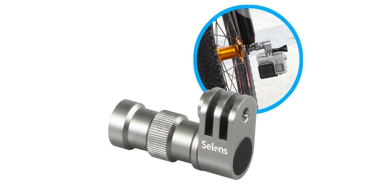 Крепление на колесо велосипеда Selans сбоку