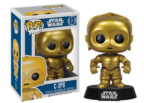 Фигурка Funko POP! Bobble: Star Wars: C-3PO 2387