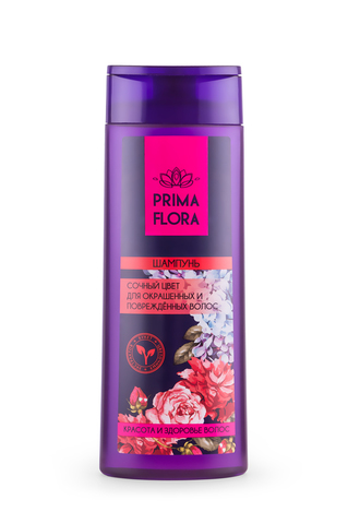 Modum Prima Flora Шампунь сочный цвет для окрашенных и поврежденых волос 420г