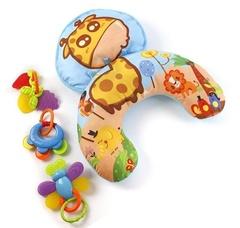 Жирафики Игровой коврик-подушка