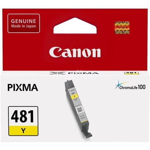 Картридж Canon CLI-481 Y желтый (2100C001)