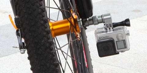 Крепление на колесо велосипеда Selans на колесе