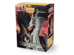 Dragon Shield - Протекторы Valentine Dragons 100 штук