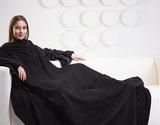 Плед с рукавами Gekoko Premium «Black»