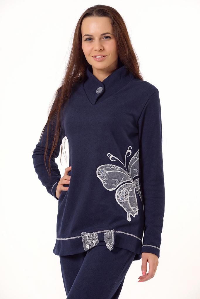 Теплый женский домашний костюм Bacirubati (Домашние костюмы и пижамы)