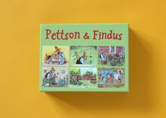 Кубики «Петсон и Финдус — красный набор»