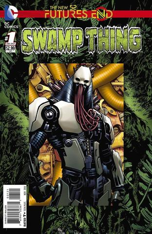 Swamp Thing #1: Futures End Lenticular Cover
