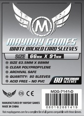 Протекторы Mayday: 66*91мм (Gray Backed) (80)