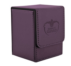 Ultimate Guard - Фиолетовая кожаная коробочка на 100+ карт для Коммандера