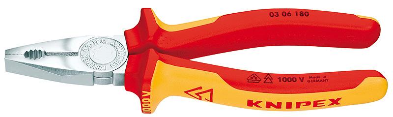 Плоскогубцы комбинированные Knipex KN-0306160