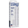 Насадка на пенис Xtend It Kit - Ribbed - UR3® - Frost (4,8 х 20,3 см.)