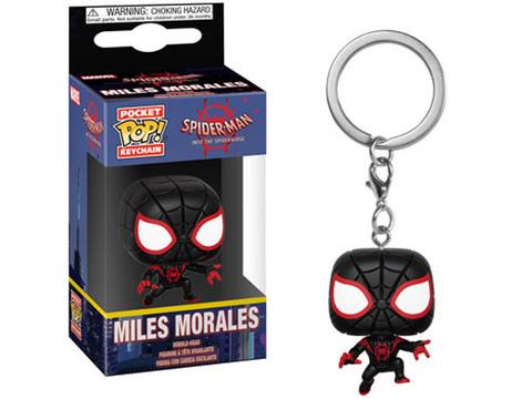 Брелок Человек-Паук. Сквозь Вселенные - Майлз Моралез || POP! Keychain Spider-man Into The Spiderverse - Miles Morales