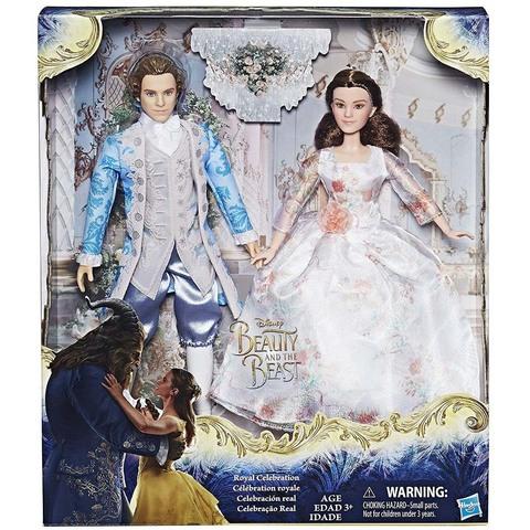 Дисней Красавица и Чудовище набор Белль и Принц