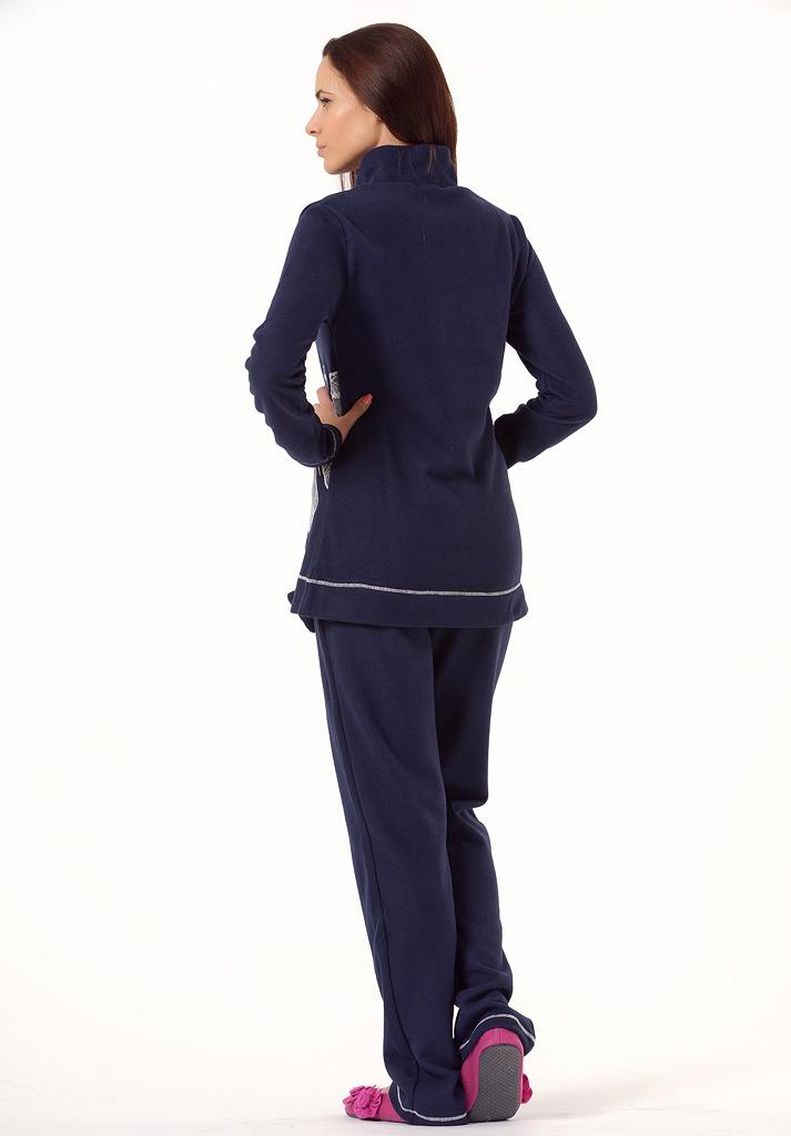 Теплый женский домашний костюм Bacirubati