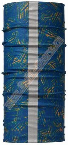 Светоотражающая бандана-труба Buff R-Wrinkles Blue