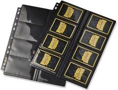 Dragon Shield - лист для альбома 16-Pocket Pages черный Glare