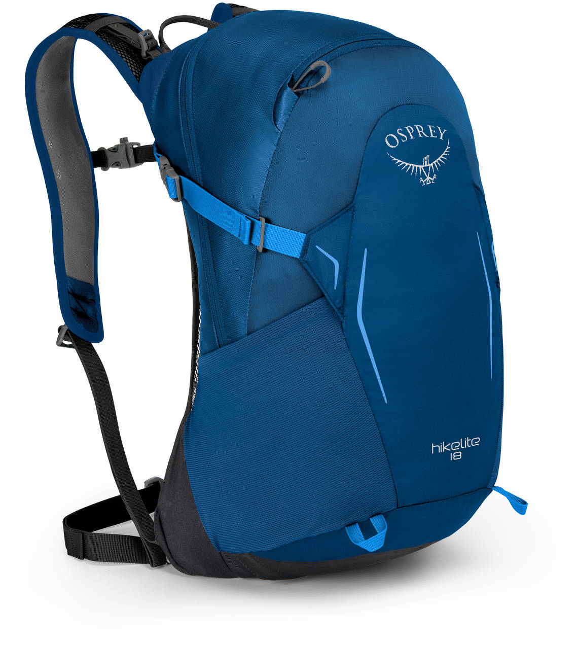 Туристические рюкзаки Рюкзак Osprey Hikelite 18 Bacca Blue HIkelite18_S18_Side_BaccaBlue_web.jpg