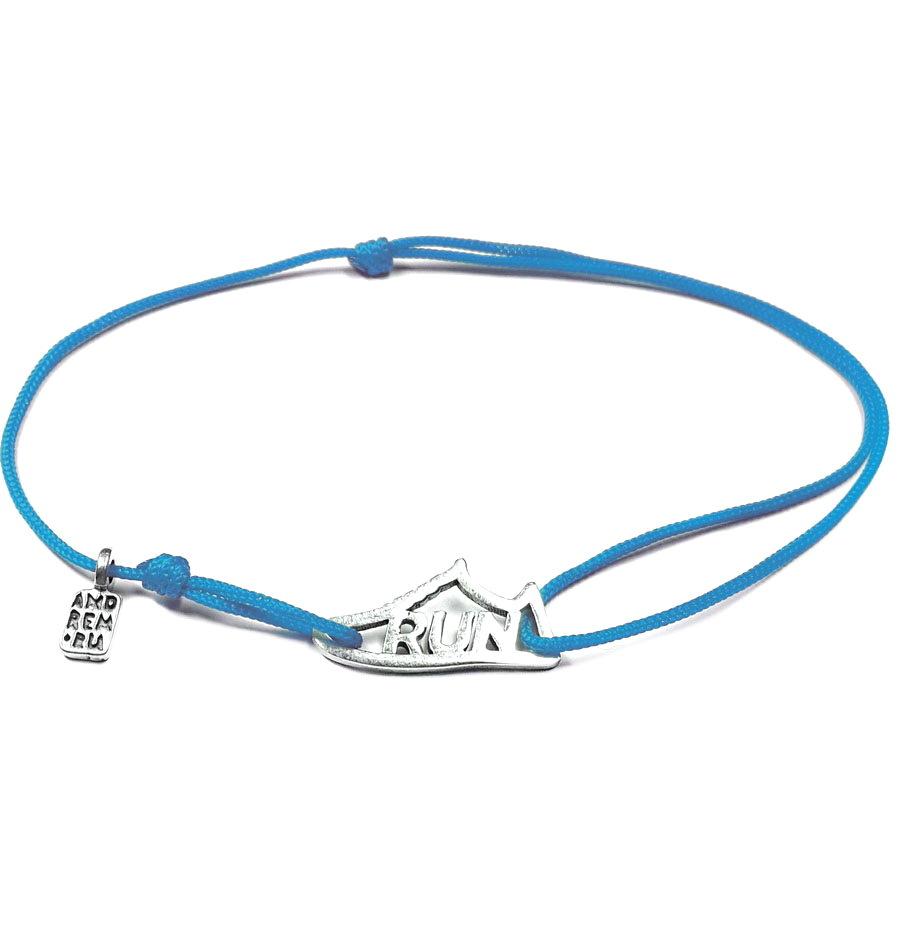 Run Sneaker Bracelet, sterling silver