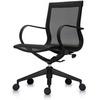 Офисное кресло Mercury LB, черная сетка/черный пластик