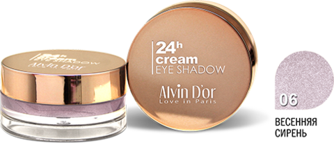 Alvin D`or AES-15 Тени для век 24h Cream EyeShadow (тон 06)