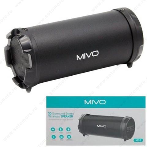 Акустическая система Mivo M01 черный