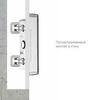 Полувстраиваемый монтаж светильника EXIT в стену из гипсокартона