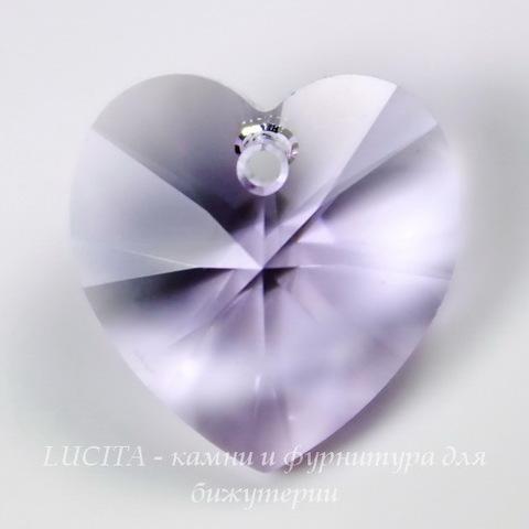 6228 Подвеска Сваровски Сердечко Violet (18х17,5 мм)