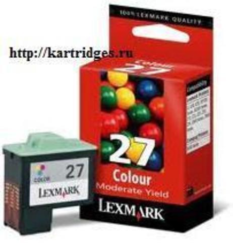 Картридж Lexmark 10N0227 / 10NX227E №27