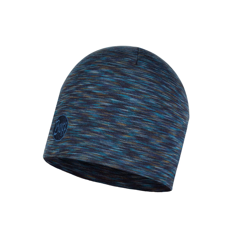 Теплая шерстяная шапка Buff Denim Multi