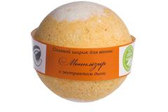 (Срок годности до 13.06.2020) Шарик для ванн соляной Монплезир (дыня), 160g ТМ Savonry