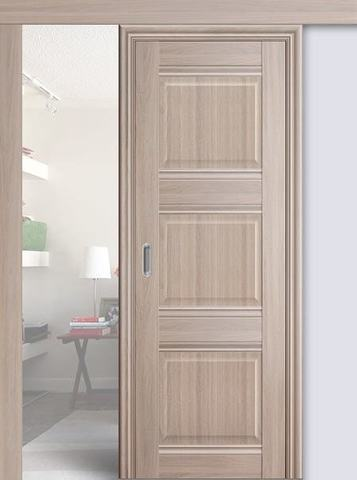 > Экошпон раздвижная Profil Doors №3Х-Классика, цвет орех пекан, глухая