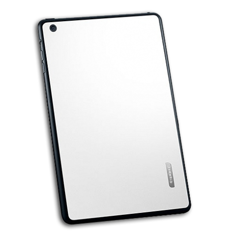 Spigen SGP Skin Guard Set Leather for iPad Mini 2 | 3 Retina White SGP10070