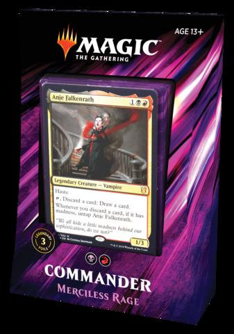 Commander 2019: Merciless Rage (на английском)