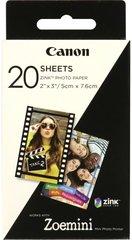 Фотобумага (кассета) CANON ZP-2030 Zink Paper (20 листов) для Canon Zoemini