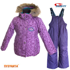 Комплект для девочки зима Gusti Boutique 4969 Orchid