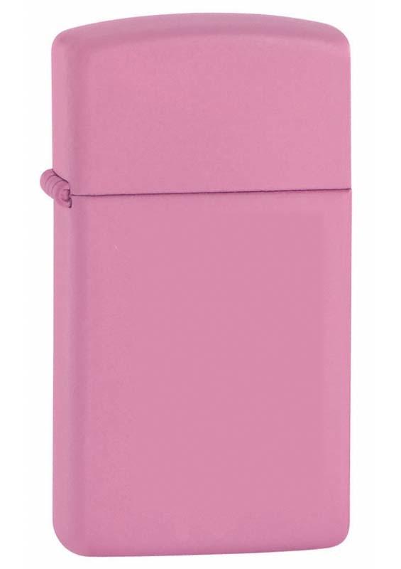 Зажигалка ZIPPO Slim® с покрытием Pink Matte ZP-1638