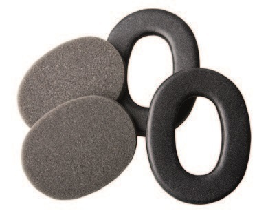 Сменные обтюраторы для наушников серии 3M™ Peltor™ ProTac (комплект), чёрные